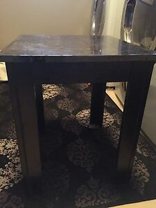 Coffee table and two end side tables