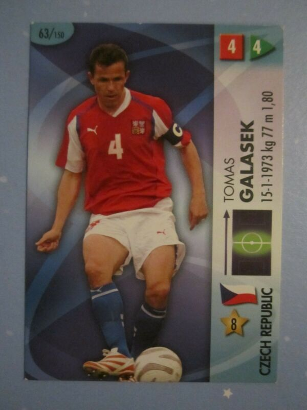 Panini World Cup goaaal Germany 2006 trading cards milan jan koller Republic