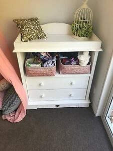 Used Boori cabinet and change table Botany Botany Bay Area Preview