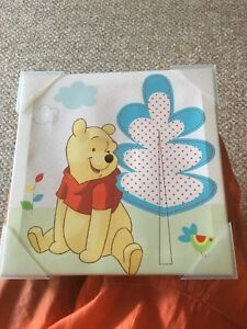 "Winnie the Pooh canvas wall art  10""Wx1""Dx10""H"