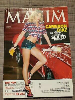Cameron Diaz Magazine Maxim Stuff Fhm #162 June 2011 hot 100 women bad teacher - Teachers Stuff