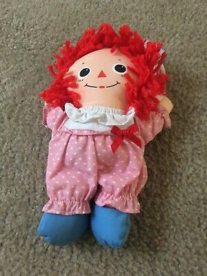 Baby Raggedy Ann Mini Girl Doll Raggedy Ann & Raggedy Andy Ages 1.5 And Up