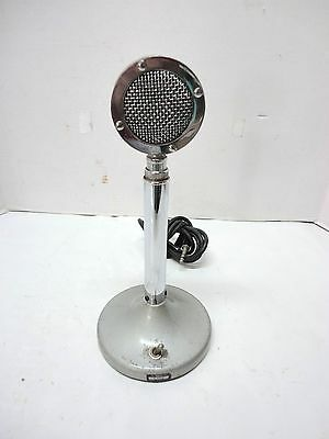 Vintage Astatic Corp  Model No  D 104 Stand Microphone Lollipop   Untested