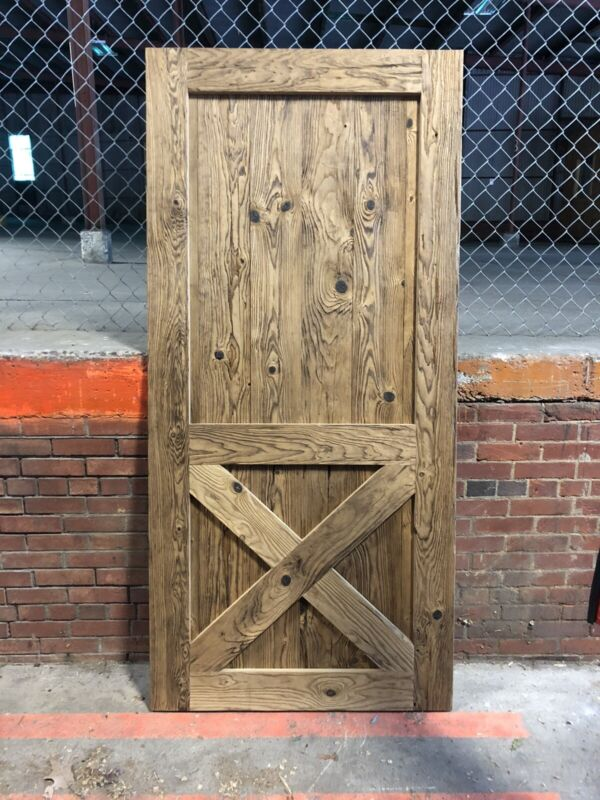Reclaimed Barn Door Rustic