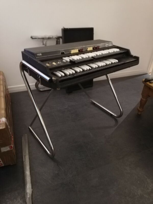 Vox Jaguar Continental Organ REPRO Stand Stainless Steel