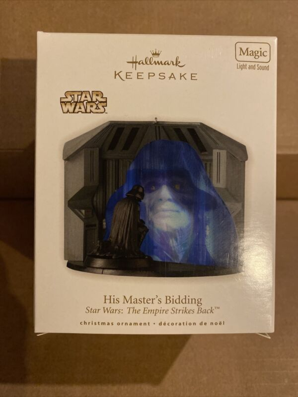 2010 HALLMARK KEEPSAKE STAR WARS HIS MASTERS BIDDING EMPIRE STRIKES BACK MAGIC