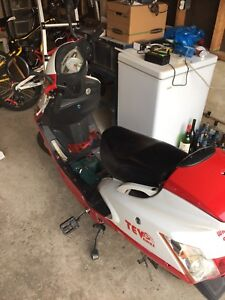 Electrical bike scooter)was saga for sale- very cheap
