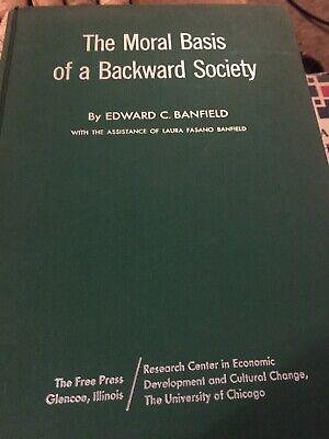 the moral basis of a backward society edward banfield