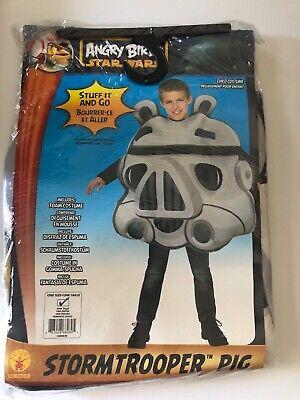 Rubies Angry Birds Star Wars Kids Stormtrooper Pig Costume Halloween