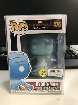 Funko Pop! Spider-Man Far From Home GITD Barnes & Noble Exclusive HYDRO-MAN #475