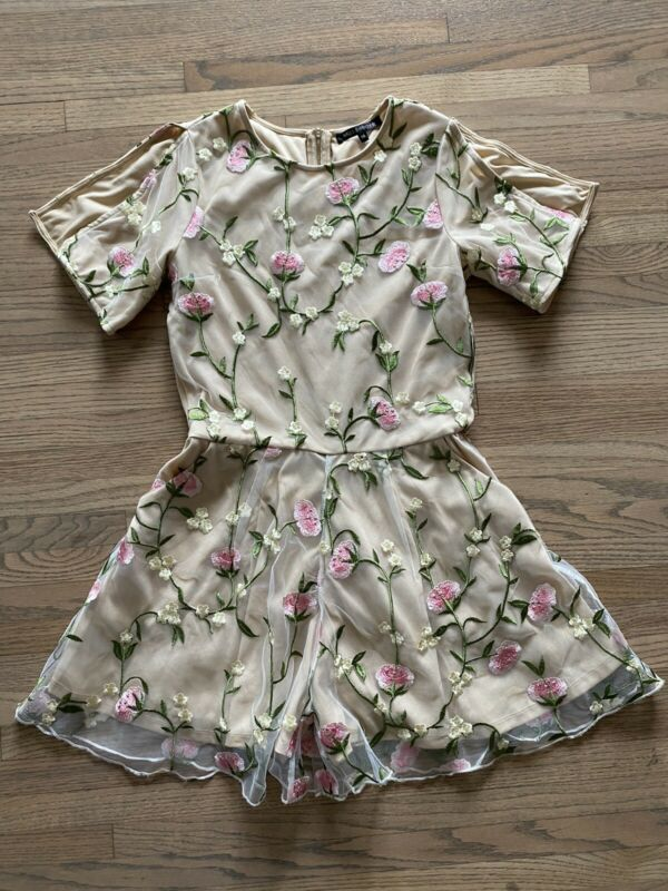MISS BEHAVE GIRLS CLOTHES ROMPER SIZE 16