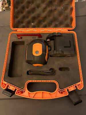Acculine Pro 40-6520 Self Leveling Rotary Laser Level Read