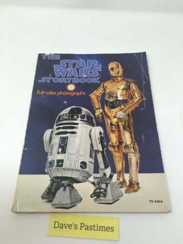 The Star Wars Storybook 1978 Full-color Photographs Scholastic Paperback R2D2