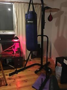 Genki boxing bag and speed ball, good condition. Solid build Hackett North Canberra Preview