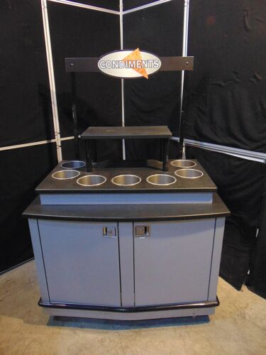 Commercial Condiment Station Restaurant, Convention, Convenient Store S4499