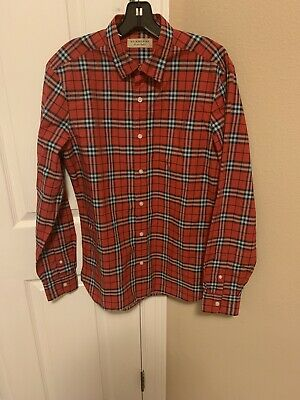 MENS BURBERRY CASUAL SHIRT SZ MEDIUM