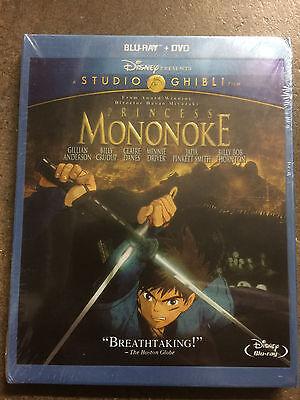 Princess Mononoke (Blu-ray + DVD) Sealed in Box Gift Xmas