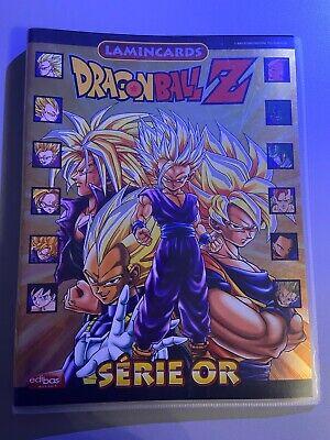 Album Classeur Cartes Dragon Ball Z Lamincards Série Or Edibas DBZ 18...