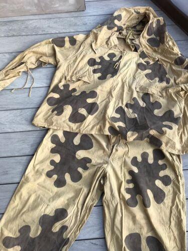 EXTREMELY RARE Original WWII camouflage suit AMOEBA RKKA 1938-1941