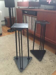 """Trica Speaker Stands -24.25"""" with Spikes"""
