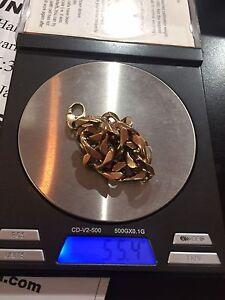 Men's 9ct  rose gold bracelet 54.4 grams St Albans Brimbank Area Preview