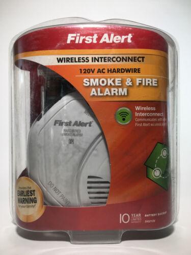 First Alert SA521CN-3ST Hardwired one Link Wireless Smoke Al