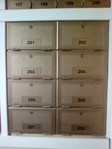 Mailboxs for sale.