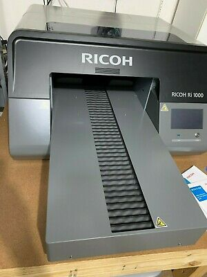 Ricoh Anajet Ri1000 Dtg Direct To Garment Printer Barely Used