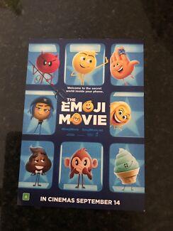 The emoji movie pass admit 4