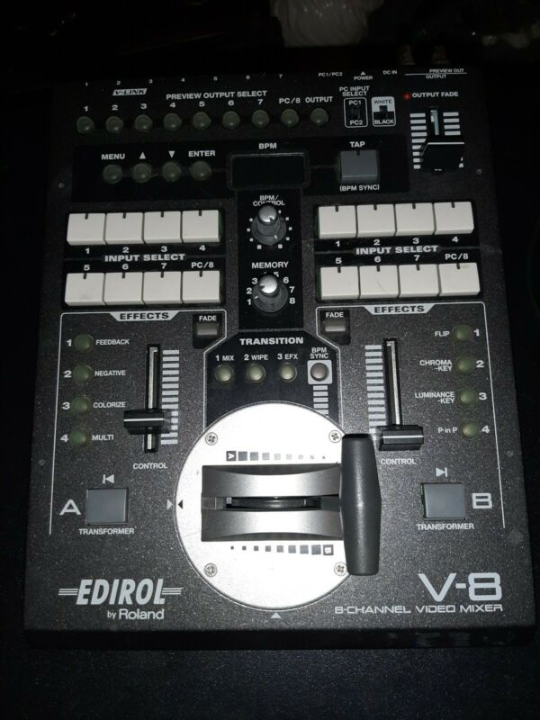 Edirol By Roland V-8...8 Channel Video Mixer