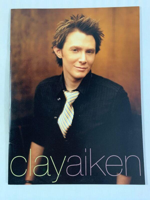 Clay Aiken Tour 2004 Souvenir Book