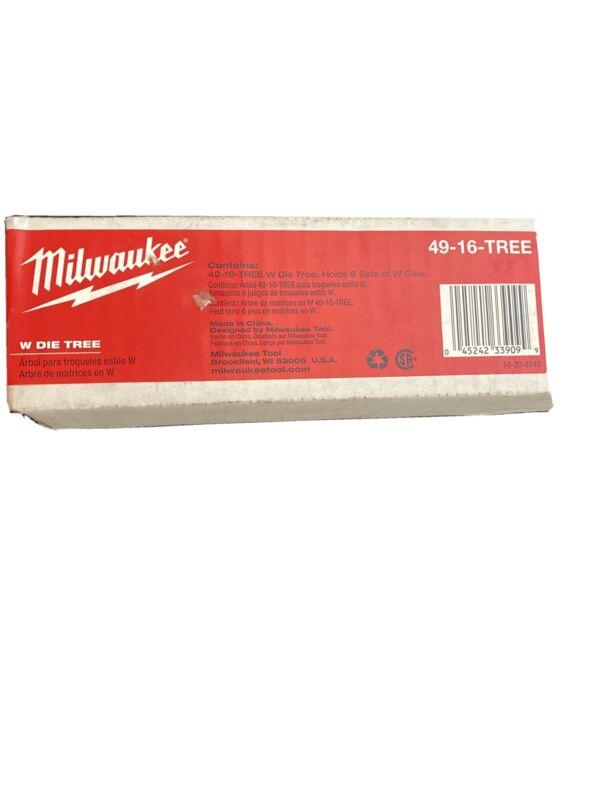 Milwaukee 49-16-TREE W Die Tree New In Box