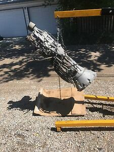 Nissan Pathfinder automatic transmission and transfer case