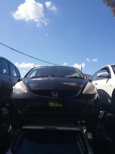 NOW WREAKING HONDA JAZZ BLACK,SILVER COLOR ALL PARTS 2004,08 Dandenong South Greater Dandenong Preview