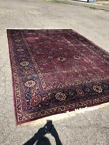 Antique Persian Carpet &a Palace Size Rug