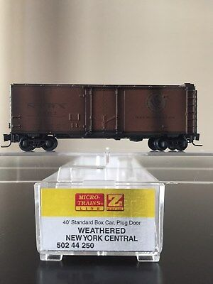 Z Scale Micro Trains MTL  50244250 Weathered New York Central NYRX 2507 for sale  Catlettsburg