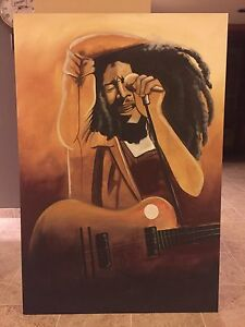 Bob Marley Oil Painting