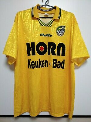 SIZE XXL Fortuna Sittard 1998-1999-2000 Home Football Shirt Jersey Lotto image