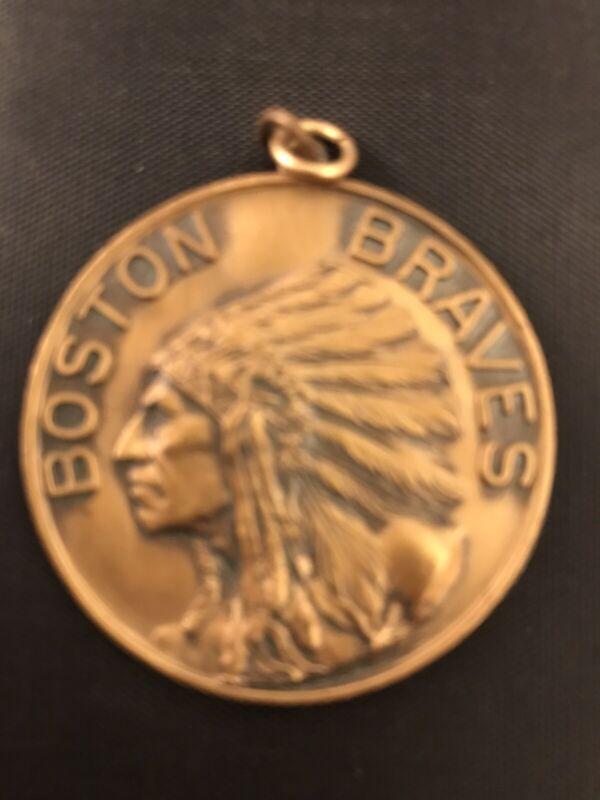 1930 Boston Braves PSA Medalian Ticket Pass:Alexander/Sisler/Maranville Last GM