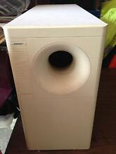 BOSE ACOUSTIMAS SPEAKERS AND SUBWOOFER 5 OUBLE CUBE SPEAKERS Windsor Brisbane North East Preview