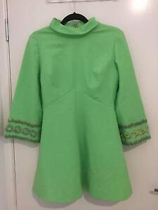 Vintage Green Skater Dress Woombye Maroochydore Area Preview