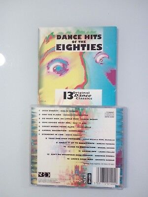 COMPILATION - DANCE OF THE EIGHTIES - (MCPS QUED140) CD usato  Torino