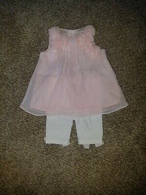 Outfits For Girl (Blush And White Summer Outfit For Baby Girl 6 Months Miniclasix)