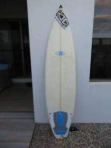 Ocean and Earth  3 Fin Surfboard