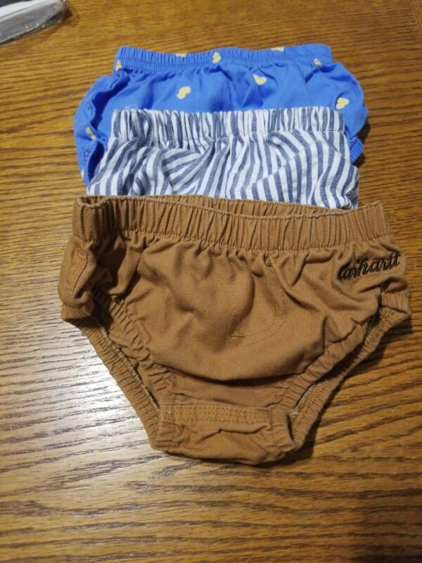 Diaper Covers 3-6 Months Lot Of 3 Carhartt Included