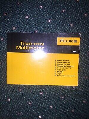 Fluke Hvac Combo Kit 116 True Rms Multimeter User Manual