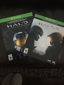 """Halo """"Master Chief Collection"""" and Halo 5 """"Guardians"""" for trade"""
