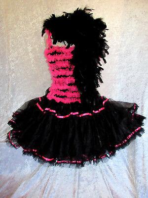 Sexy Kostüm Lolita-Punk-SteamPunk~Petticoat~Tütü Gr S M Karneval~Fasching - Sexy Steampunk Kostüme