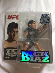 Limited Edition NICK DIAZ Round 5 Ultimate Collector UFC MMA