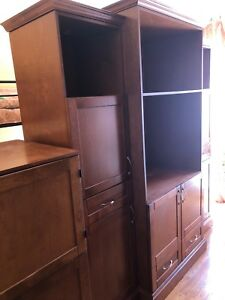 Meuble Tele & meuble d'appoint en bois